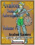 RPG Item: Avalon Solo Adventures Volume 1