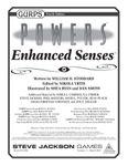 RPG Item: GURPS Powers: Enhanced Senses