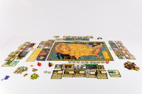 Board Game: Fallen Land: A Post Apocalyptic Board Game
