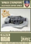 Board Game: Dust Tactics: Allied Fortification – Field Phaser Bunker / Strongpoint