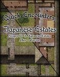 RPG Item: Quick Encounters: Japanese Estates