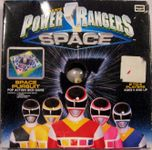 Board Game: Power Rangers in Space: Space Pursuit Pop Action Dice Game