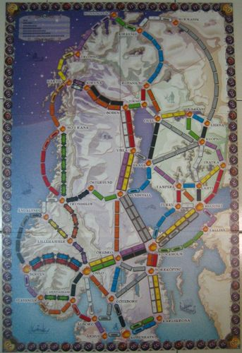 Board Game: Ticket to Ride: Nordic Countries