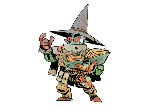 illustration of the Enchanter from Vast: the Mysterious MANOR