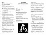 RPG Item: The Escape