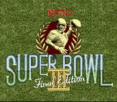 Video Game: Tecmo Super Bowl III: Final Edition
