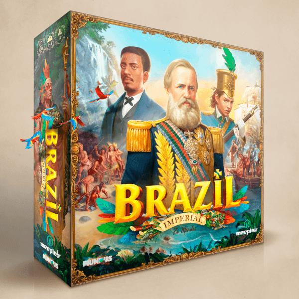 Brazilian box cover. Retail version.