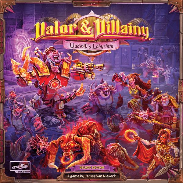 Valor & Villainy: Lludwik's Labyrinth