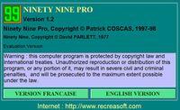 Video Game: Ninety Nine Pro