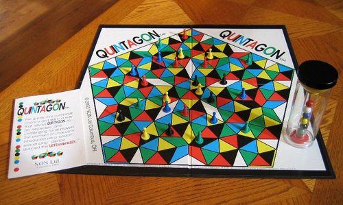 Board Game: Quintagon