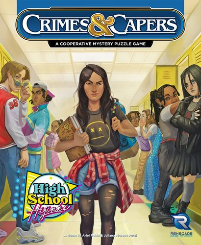 Board Game: Crimes & Capers: High School Hijinks