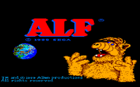 Video Game: ALF