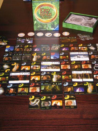 Board Game: Der Herr der Ringe: Die Gefährten – Das Kartenspiel