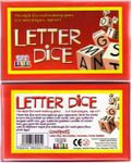 Board Game: Letter Dice