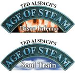 Board Game: Age of Steam Expansion: Disco Inferno / Soul Train