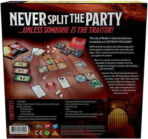 Board Game: Betrayal at Baldur's Gate