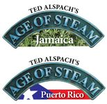 Board Game: Age of Steam Expansion: Jamaica / Puerto Rico