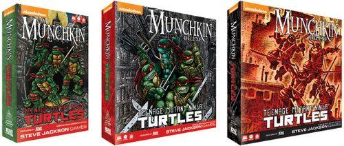 Board Game: Munchkin Teenage Mutant Ninja Turtles