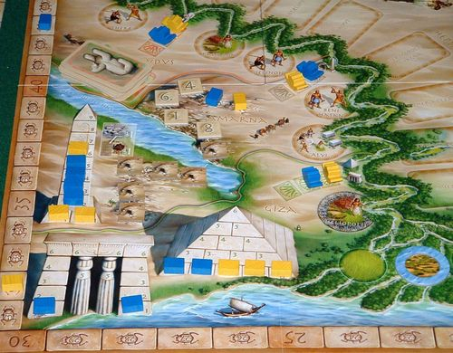 Board Game: Egizia