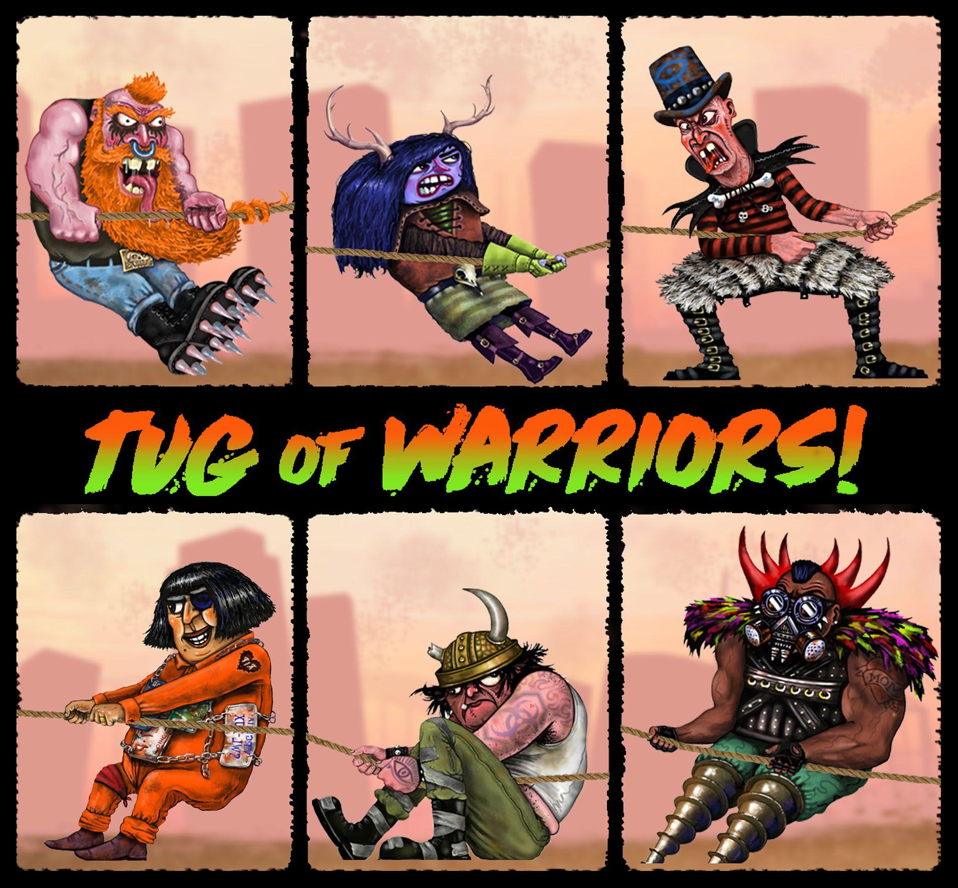 Tug-of-Warriors!