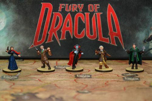 Board Game: Fury of Dracula (Third/Fourth Edition)