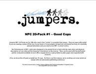RPG Item: NPC 20-Pack #1: Good Cops