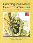RPG Item: Cooper's Compendium of Corrected Creatures: Troll Hunter and Owl Animal Companion