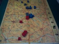 Allies victory using Napoleon's gambit