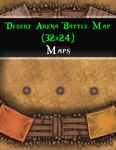 RPG Item: Desert Arena Battle Map (32x24)
