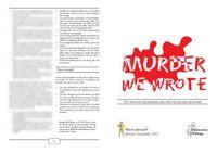 RPG Item: Murder, We Wrote
