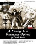 RPG Item: A Menagerie of Summoner Options