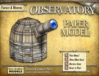 RPG Item: Observatory Free Paper Model