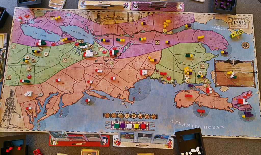 Board Game: 1754: Conquest – The French and Indian War