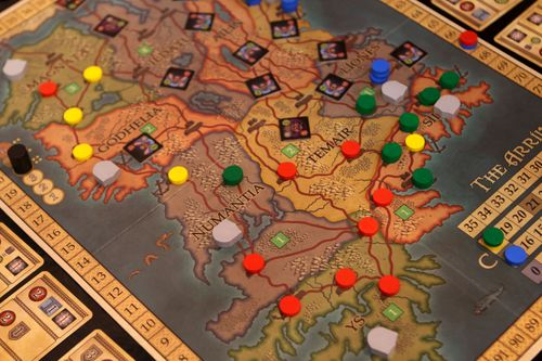 Board Game: The Arrival