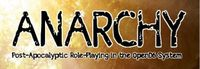 RPG: Anarchy: Post-Apocalyptic Role-Playing in the OpenD6 System