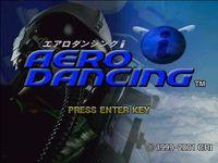 Video Game: Aero Dancing i