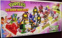Board Game: Teenage Mutant Ninja Turtles Subterranean Sewer Hockey