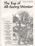 Issue: The Eye of All-Seeing Wonder (Issue 2 - Autumn 1993)