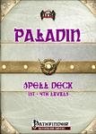 RPG Item: Paladin Spell Deck (1st: 4th)