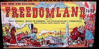 Board Game: Freedomland Game