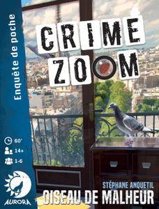 Crime Zoom: Oiseau de malheur Cover Artwork