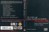 RPG Item: The Golden Age Classic Traveller on CD-ROM