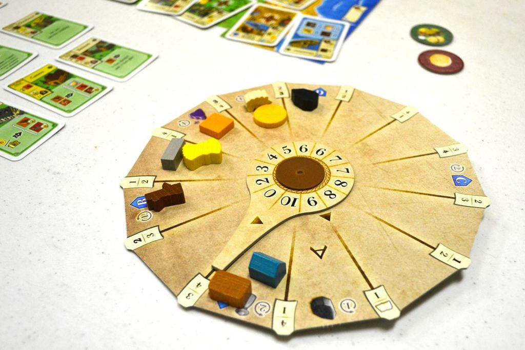 Board Game: Ora et Labora