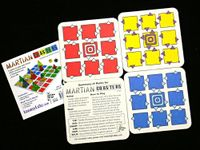 Board Game: Martian Coasters