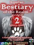 RPG Item: Aquilae: Bestiary of the Realm Abridged 2 (PF2)