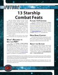 RPG Item: 13 Starship Combat Feats