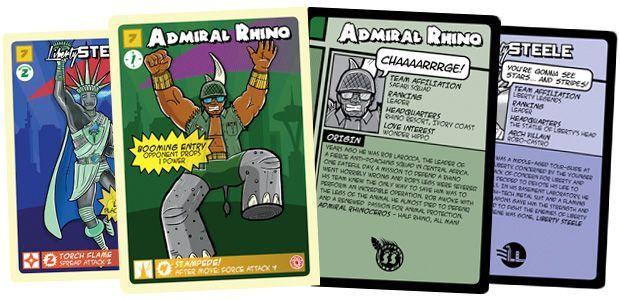 Board Game: Pack of Heroes