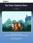 RPG Item: SPC1: Old School Character Sheets
