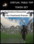 RPG Item: Virtual Table Top Token Set: Creature Encounter Our Feathered Friends