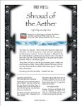 RPG Item: Shroud of the Aether